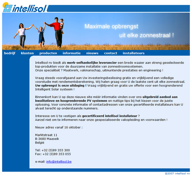 Website Intellisol
