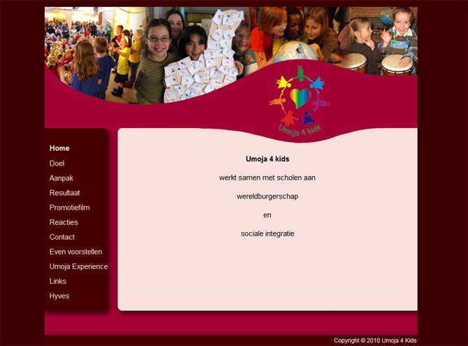 Website Umoja 4 Kids