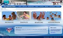 Website zwembad de IJzeren Man
