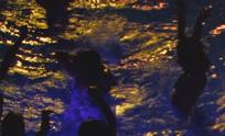 Discozwemmen zwembad de IJzeren Man