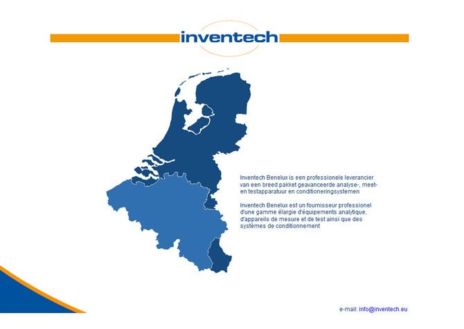 Website Inventech Benelux bv